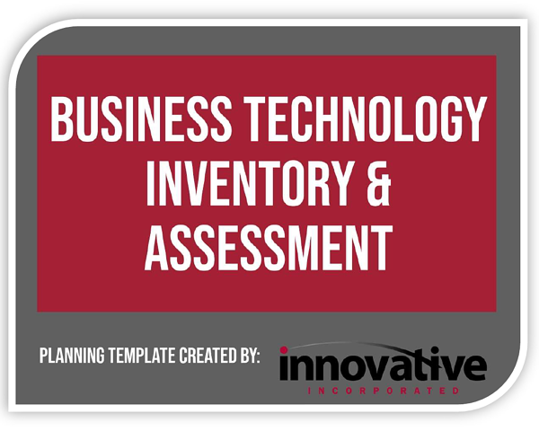 Technology Plan Title Page